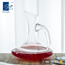 54oz FDA Fancy Glass Decanter Wine Decanter Wine Carafe with Handle