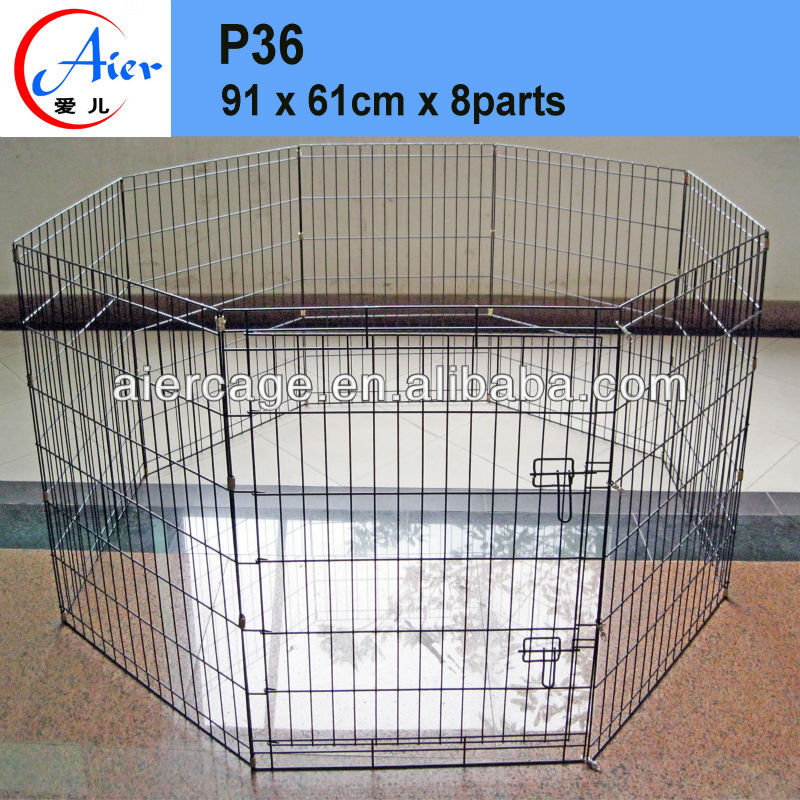folding wire outdoor dog playpen
