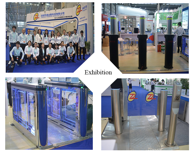 new design gate single channel full height turnstile rfid automatic gate systems barrier gate