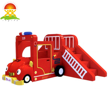 Indoor playground soft slide equipment