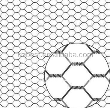 high quality galvanized hexagonal wire mesh / chain link fence / dog fence alibaba.com