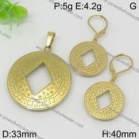 Fashion Teenager South America Style high polish gold plated round pakistan women jewellery