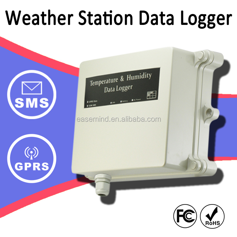 Weather Station gprs power meter remote water level system Data Logger