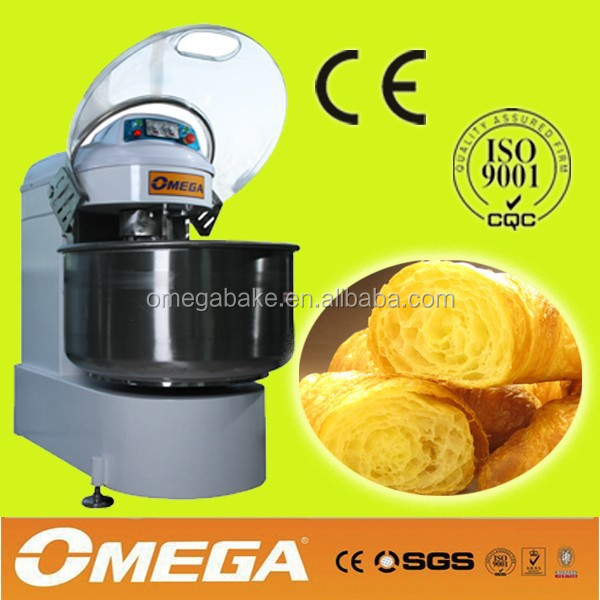 industrial bread baking spiral dough mixer bakery equipment supplier