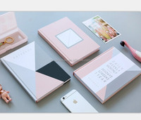 Most Popular Lady's Notebook Hard cover coated paper Journal customize Agenda