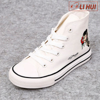 New arrival most comfortable soft bottom canvas school shoes for kids