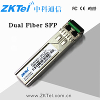 SFP LX 1.25Gbps Dual fiber 1310nm SM LC Transceiver 10Km CISCO/HUAWEI/HP Compatible Commercial Temperature Optical Module