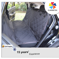 15-year Experience Durable Quilted Hammock Pet Oxford Fabric Car Seat Cover