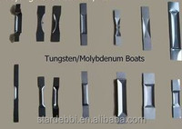 good quality and high purity more than 99.95% tungsten boat