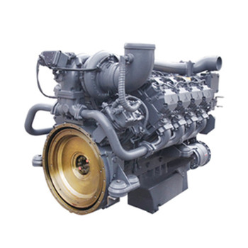 4 cylinders water cooling huachai diesel engine TCD12.0 for marine