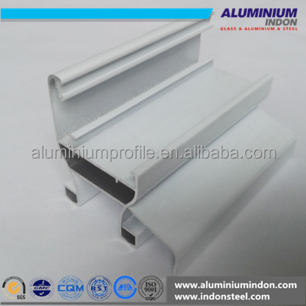 KS 50 wall frame and anodizing champagne aluminium profile for window and door for Ghana and Africa market