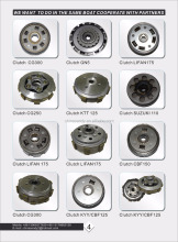 Factory Direct Sale Motorcycle Spare Parts for cd70 and Suzuki