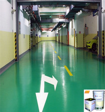 Epoxy anti-static liquid rubber epoxy floor paint for car parking