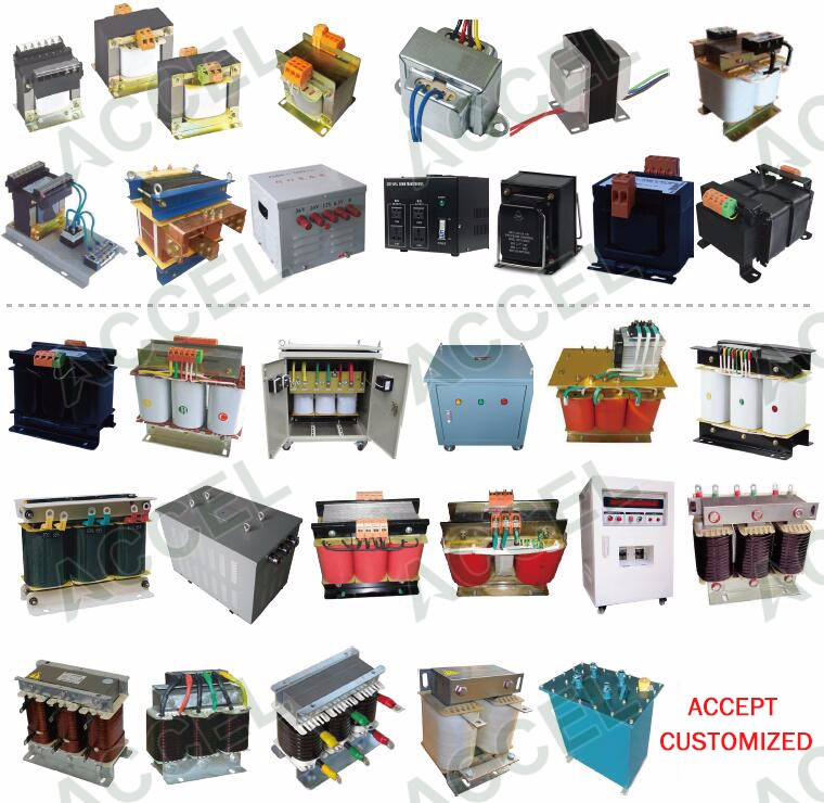 JMB industrial lighting single phase 24v 500v transformers