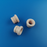 95% alumina parts/ceramic eyelets/ceramic wire guides for wire/textile