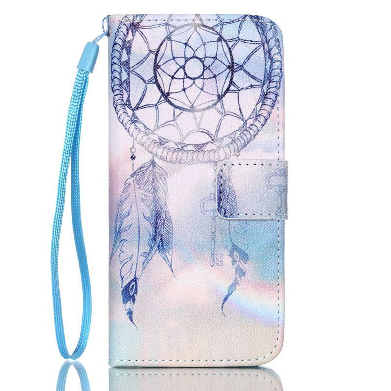DreamCatcher Printed Phone Case Wallet Flip PU Leather Case For Alcatel Pixi 3 3.5