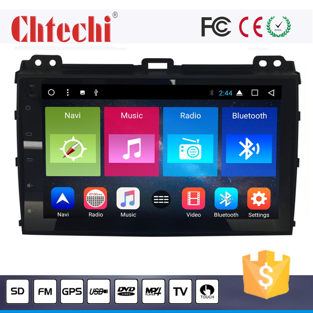 Car DVD <strong>player</strong> for Prado 2006-2009 Android touch screen video system