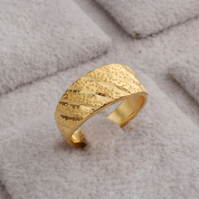 Hot Sale Imitation Jewelry Fake Gold Ring 18K