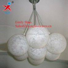 Decorative pendant hanging glass ball light