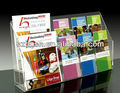 acrylic poster container;Acrylic brochure holder;Acrylic brochure dispenser;