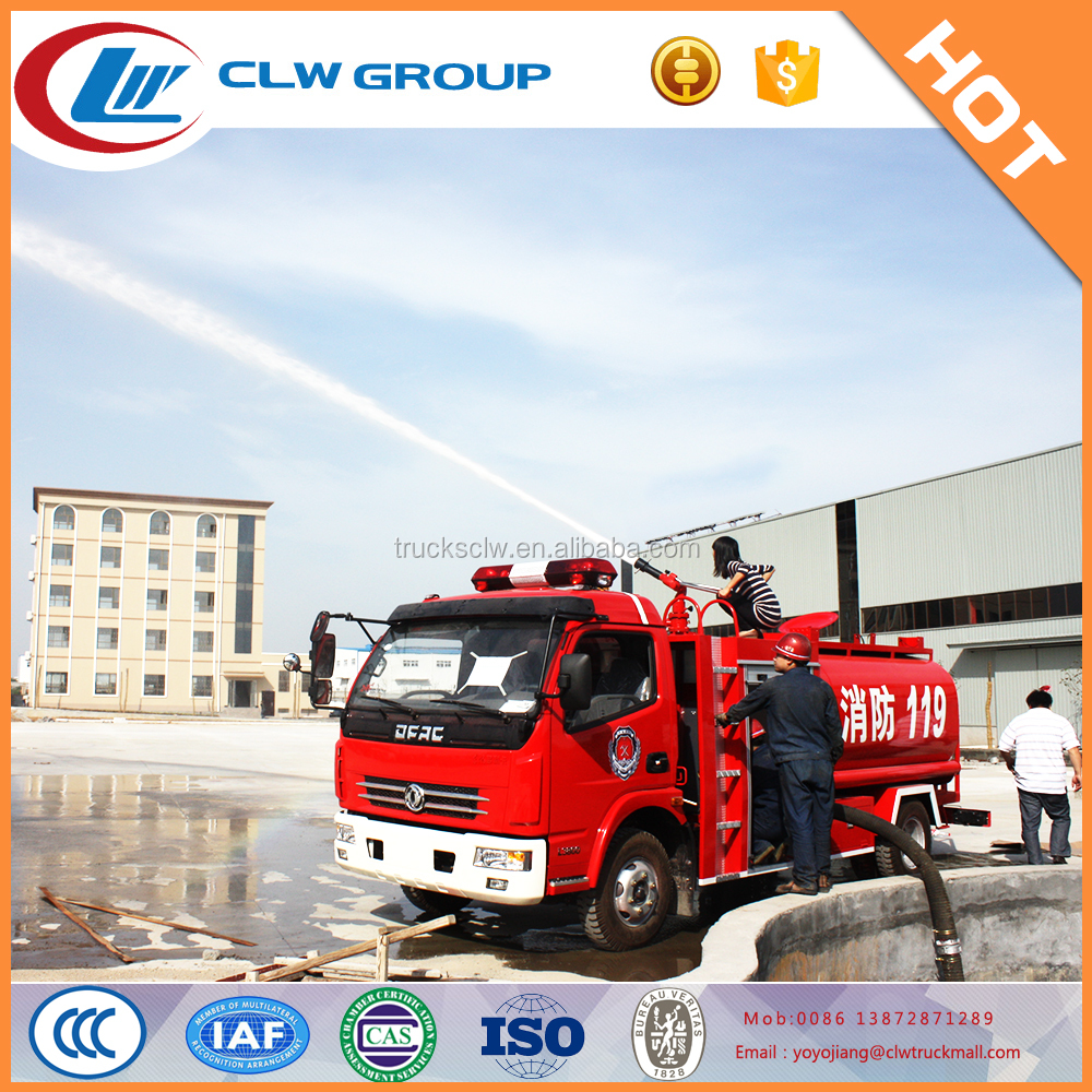 Hot sale DongFeng 8 T water fire fighting