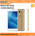 "New & Original Meizu M5 Note M621Q Mobile Phone 3GB 32GB MTK6755 4000mAH 5.5"" White Gray Gold"