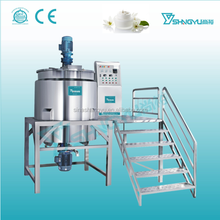 Factory manufacture shampoo liquid soap Homogenizing Mixer Blending Tank Dishwashing Liquid making machine