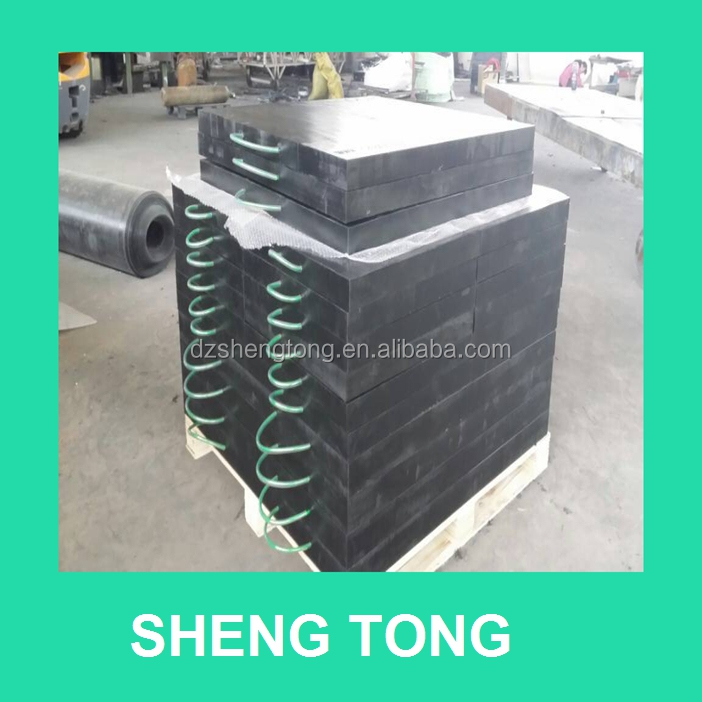 plastic uhmwpe outrigger pad, hdpe lift foot plate/ sheet