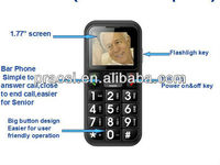 original used phone gsm sos button cell phone with loud speaker for old man