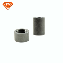 galvanized and black BS thread mild steel socket