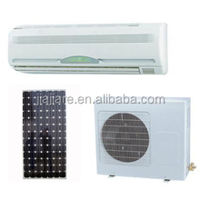 Cooling/heating and dc power split type solar air conditioner