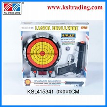 2014 new produc laser gun with target toys for kids toy