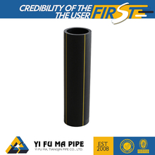 plastic gas / water supply 110mm 125mm 140mm small diameter hdpe pe 100 pipe