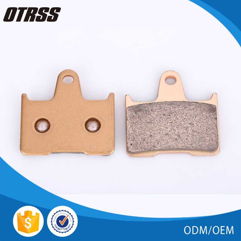 Motorcycle sintered metal disc no noise brake pad for MZ 1000 S