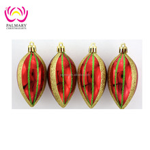 10cm Fat Nut high quality 2016 Chrismas gift packaging hanging ball