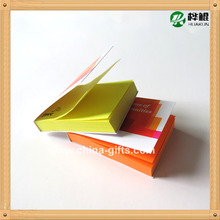 orange yellow color paper sticky note