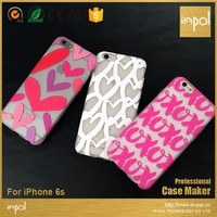stylish back cover making laser machine printing service mobile cell phone case for iphone 6 6s