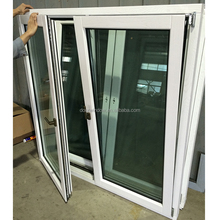 Italy Chiari Client Solid Oak Wood Casement Window standard casement window sizes double glazed SGCC glass window