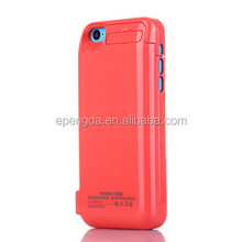 pink 4200mah for iphone battery case,4200mah mobile battery case for iphone 5c/5s/5,4200mah plastic battery case for iphone 5