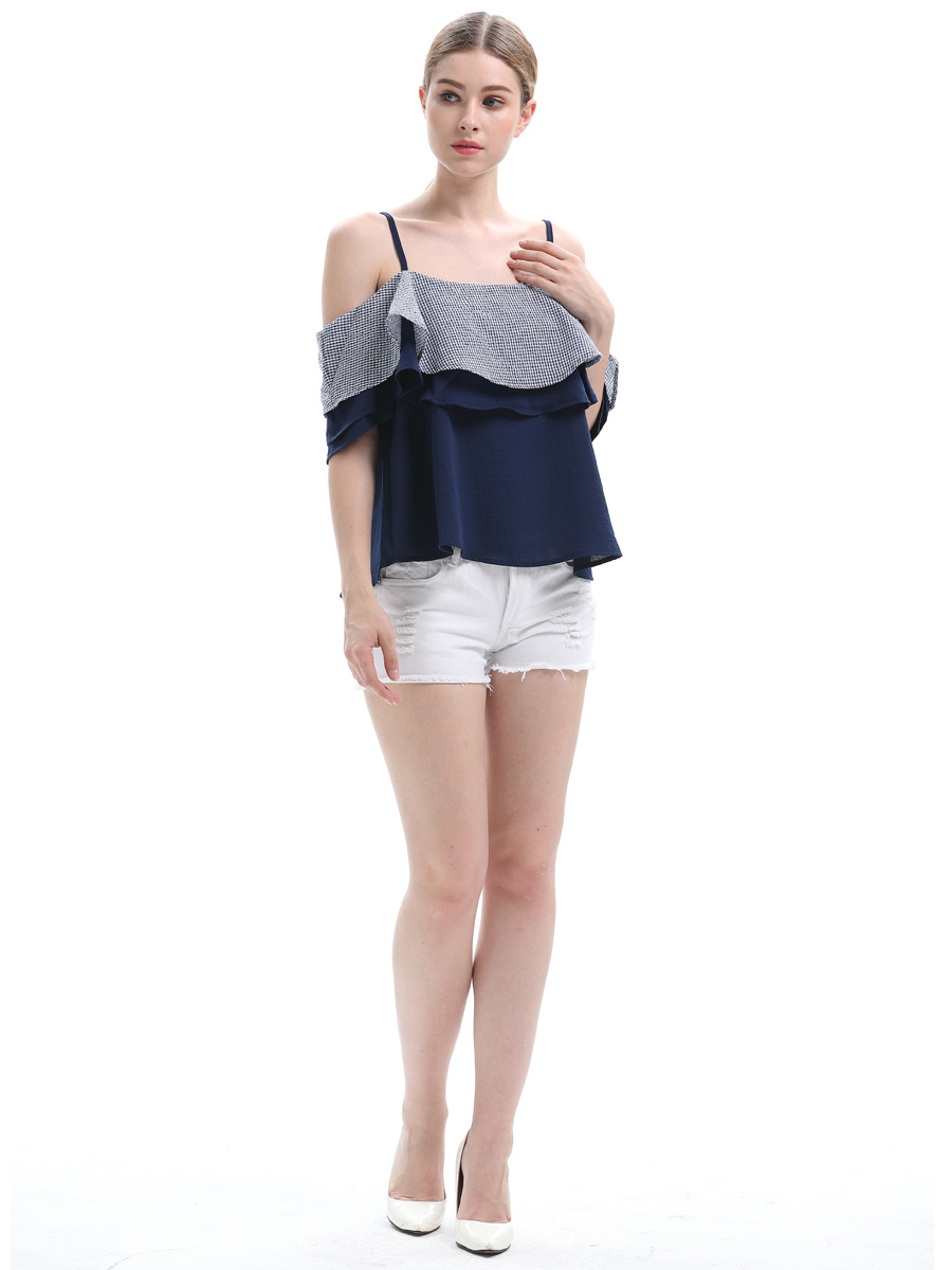 AliExpress New Summer Fashion Plus Size Ladies Top Sexy Tube Top Off Shoulder Women's Sling Shirt