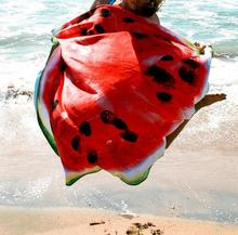 B33283A China Promotion high quality fruit printing shower towel quick-dry beach shawls