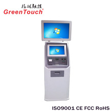 GreenTouch 17inch transparent touch glass saw touch screen for outdoor open frame monitor kisoks