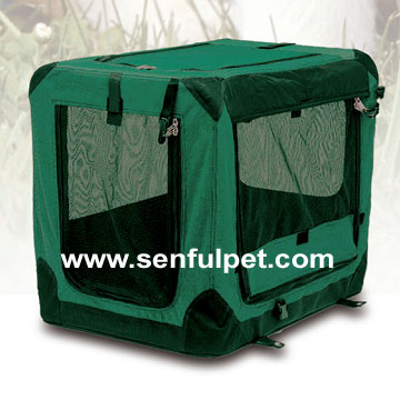 Puppy Pet Canvas Carrier Transport Soft Crate