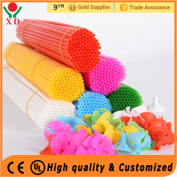 Hot selling balloon accessories latex balloon holder colorful balloon cup and stick