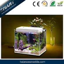 Wifi control intelligent led aquarium lighting with water level & temperature le aquarium haiyang