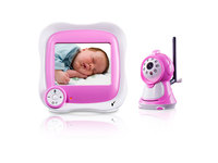 2.4G wireless baby monitor with IR Night Vision home security camera