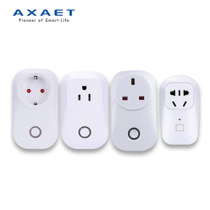 Bluetooth smart socket outlet EU/UK/US plug, quick sensor remote control socket