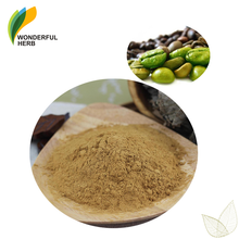 Organic bulk green coffee bean extract chlorogenic acid powder 100% pure