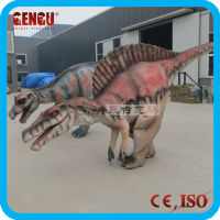 Funny inflatable dinosaur costume