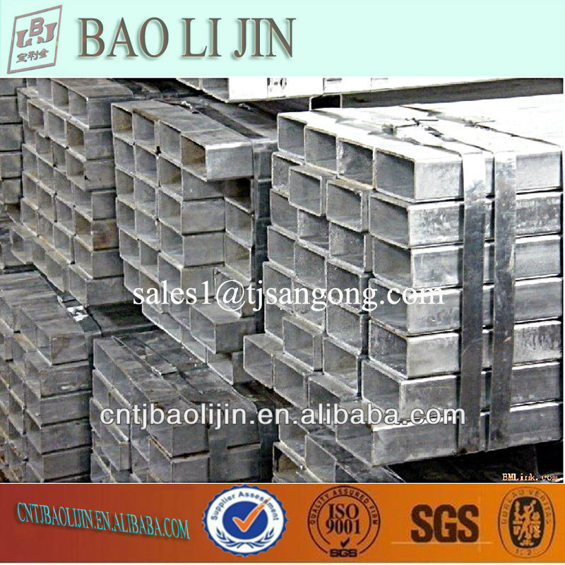 hot dip galvanized m.s. square steel tubes
